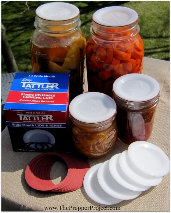 canning food, reusable lids, review, Tattler, canning lids