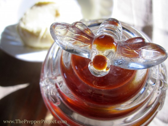 Let the bees do the work for you! Honey is sweeter than sugar and can be used in place of it in baked goods.