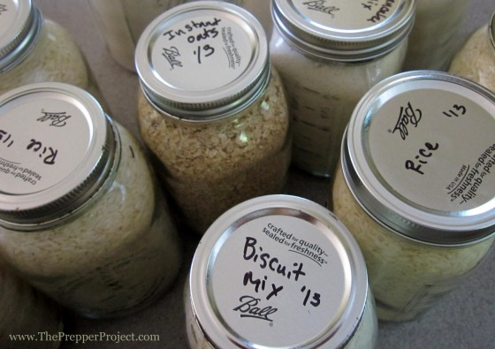 Be sure to label your jars with the contents, date canned, and how to prepare.