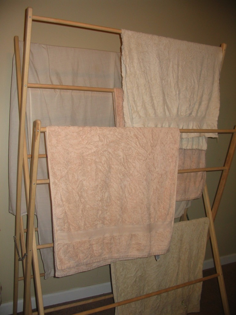 Floor Clothes Drying Rack