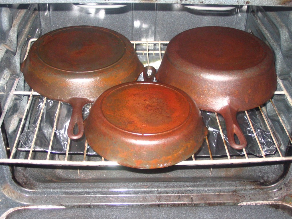 Restoring Rusty Cast Iron
