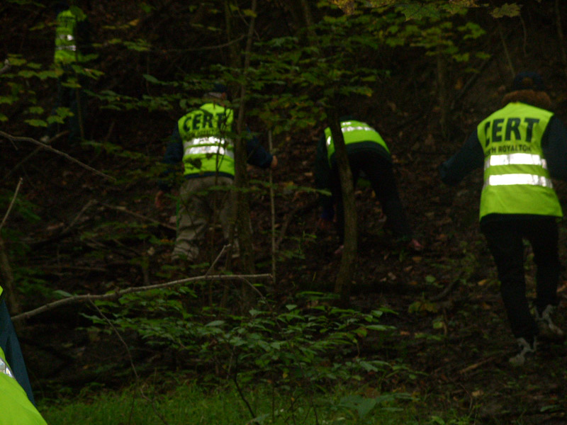 CERT Conducting Wide-Area Search