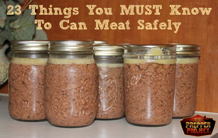 canning meat, how do you can meat