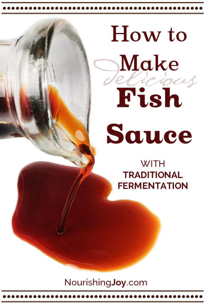13 shtf sauces you can make from home for Fermented fish sauce