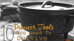 16 pioneer tools you need to survive