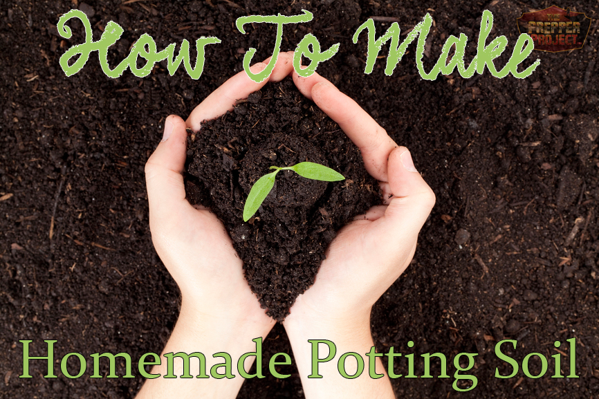 How to make potting soil for What is soil made out of