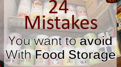 24 Mistakes You Want To Avoid With Food Storage
