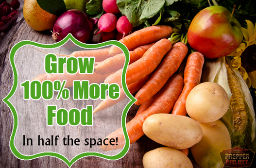 Grow 100% More Food In Half The Space