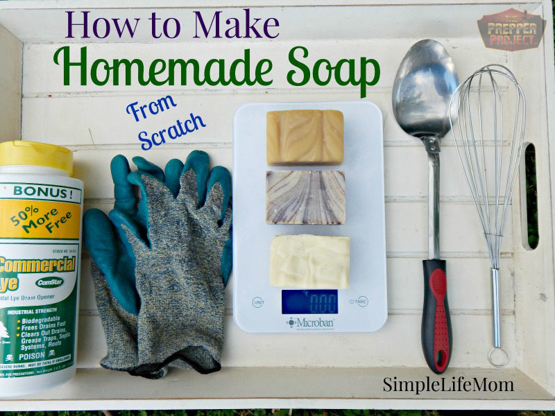 How To Make Homemade Soap From Scratch