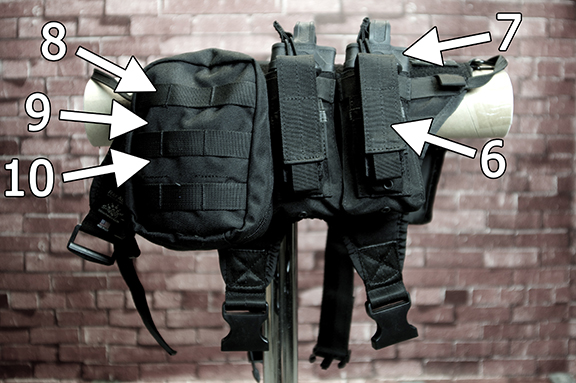 Side 2  Vest With Molle Capable Attachments