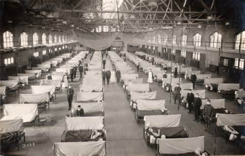 Spanish Flu gym hospital