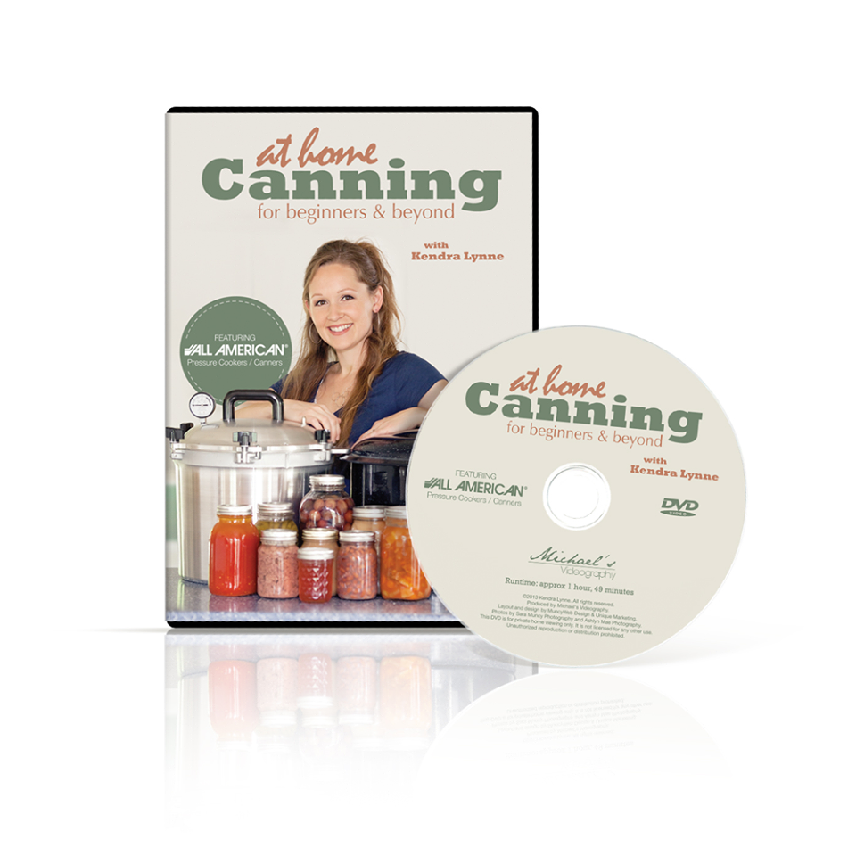 canning dvd cover and disk